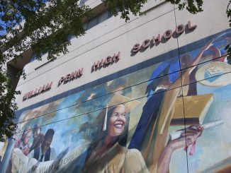 Officials said that demolition of the William Penn High School building is expected to begin in November. | Donald Otto TTN File Photo
