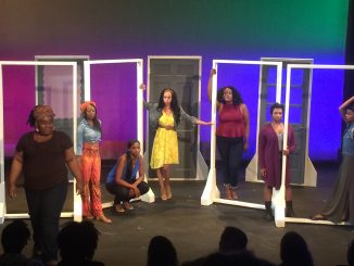 "The play ""for colored girls who have considered suicide/when the rainbow is enuf"" is about seven nameless women of color and their daily struggles within society. 