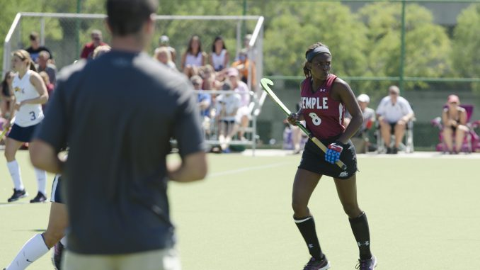Sophomore midfielder Maiyah Brown passes the goalkeeper in a game earlier this season. Brown scored 36 goals and tallied 22 assists in her high school career. |Margo Reed TTN