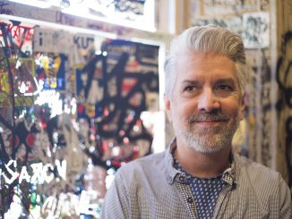 "Robert Perry, owner of Tattooed Mom, hosted the ""TV Rots Your Brains"" pop-up shop showcasing nostalgic pop culture. 