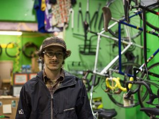 Jacob Kenney bought Neighborhood Bike Works, located on Susquehanna Avenue near Broad Street.   Patrick Clark TTN