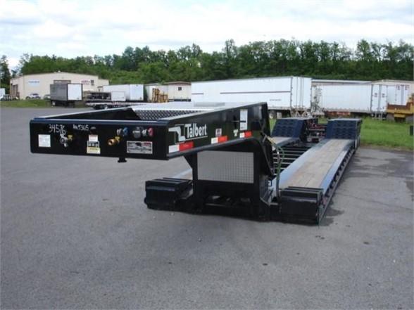 2019 Talbert 55 ton hyraulic rgn