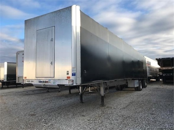 2019 Fontaine 53x102 all aluminum flatbed w/ tarp system