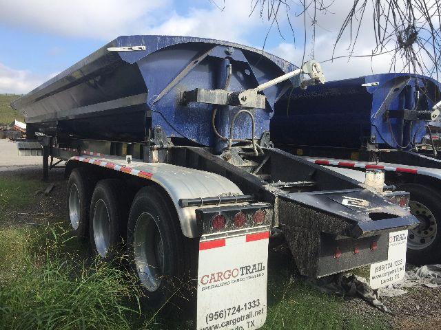 2016 Cargotrail side dump