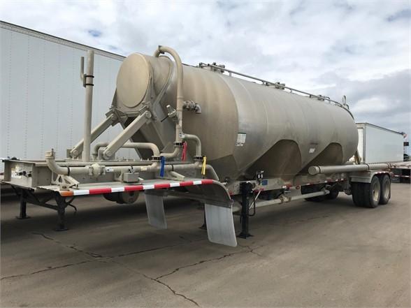 2018 Heil 42' air ride aluminum pneumatic tanker, 1040 cu ft