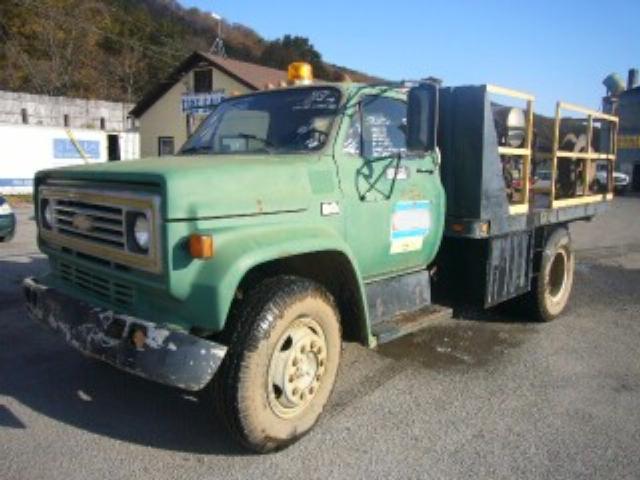 1986 CHEVROLET C60 FLATBED DUMP TRUCK #259146