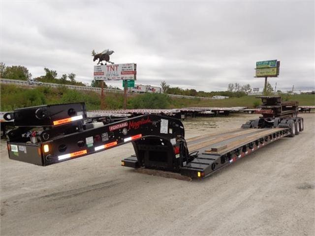 2020 Fontaine 55 ton s-t-r-e-t-c-h hydraulic detachable extendab