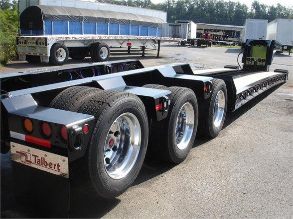2021 Talbert 55 ton hyraulic rgn
