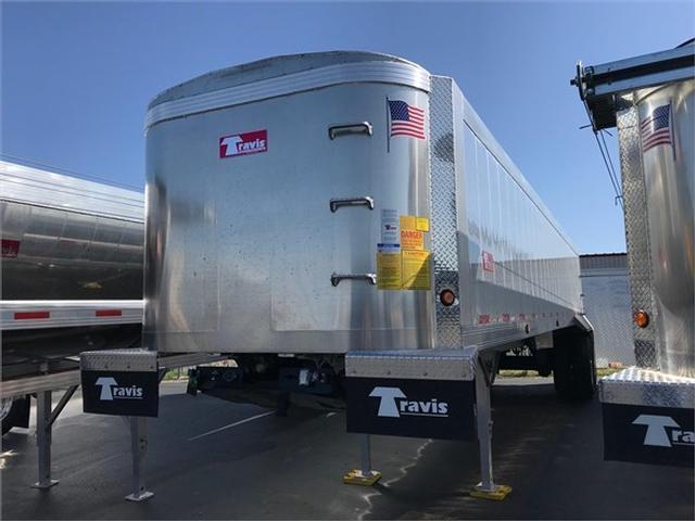 2020 Travis 35' vertex frameless aluminum end dump, air ride,
