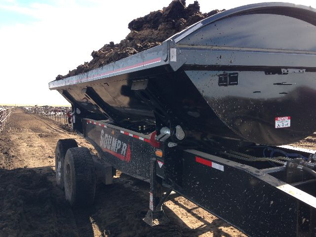 2015 Side Dump Industries manure ag series