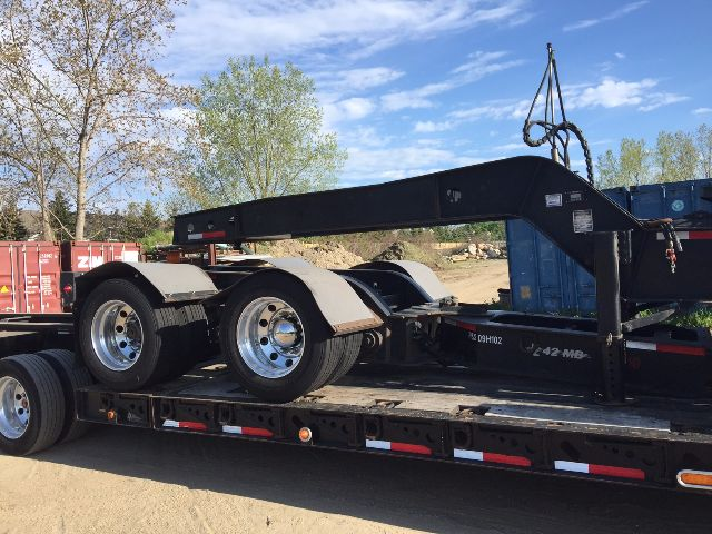 2009 Xl Specialized 120 Lowboy Trailer In Holland