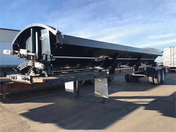 2015 Jet used 2015 jet side dump, 40', air ride, electric r