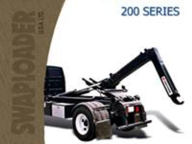 Swaploader Hooklift Hoist 200 Series Lifts Container