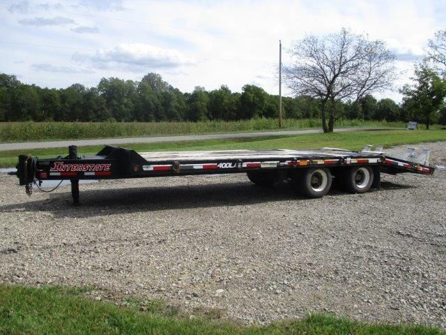 2007 Interstate 40dla 19ft flat deck/6ft beaver tail