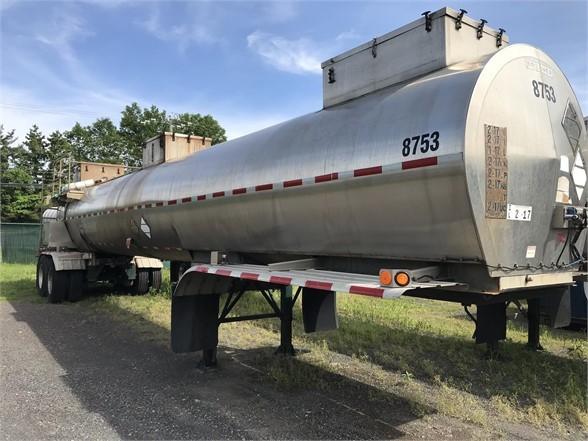 2005 Brenner dot 412 4300 gal air ride / sulfuric acid trailer