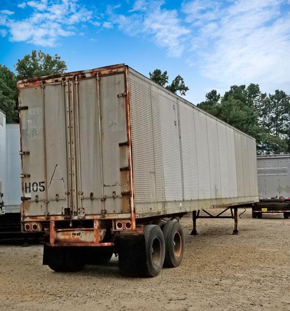 Storage Trailers For Sale >> 1974 Trail Mobile 10 Hard 2 Find 28 45x96 Storage Trailers