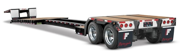 2021 Fontaine 40 ton extendable with outriggers