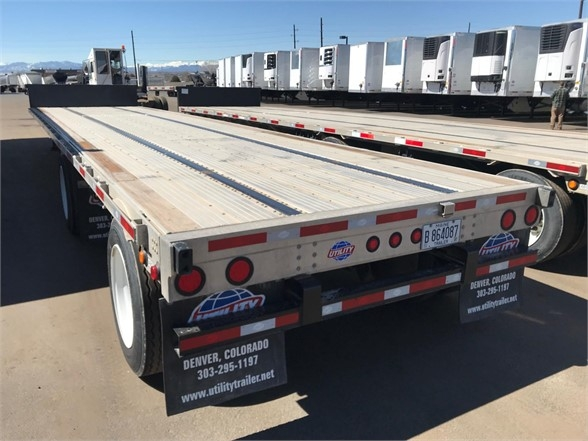 2019 Interstate used 2019 utility combo 48' dropdeck spread air ri