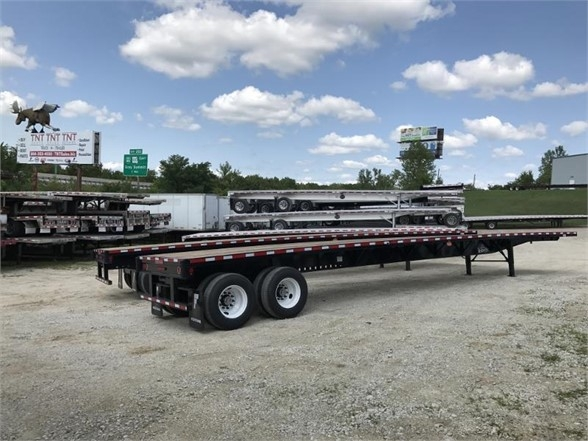 2021 Fontaine all steel apitong wood floor 48 x 102 flatbed with