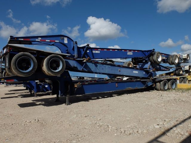 1998 reinke drop frame tank chassis chassis trailer in houston texas innova industries llc