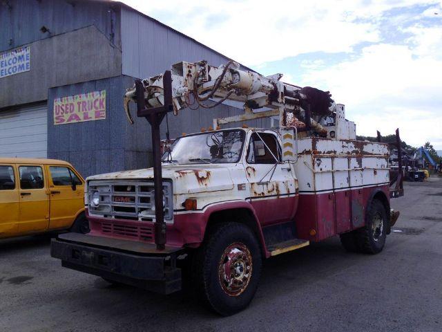 1985 GMC 7000 KNUCKLEBOOM TRUCK #440631