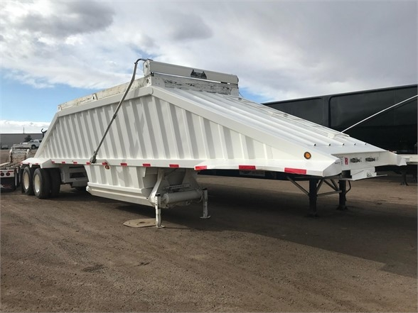 2012 Interstate 40 air ride bottom dump, slope sheets, electric fl