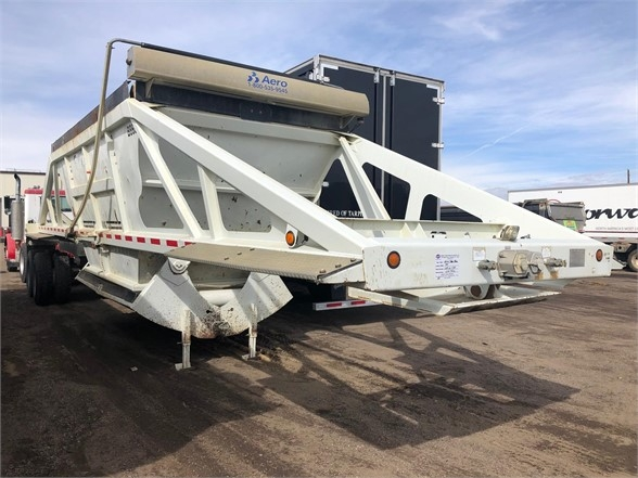 2010 Trail King 40' light weight bottom dump, single point, electr