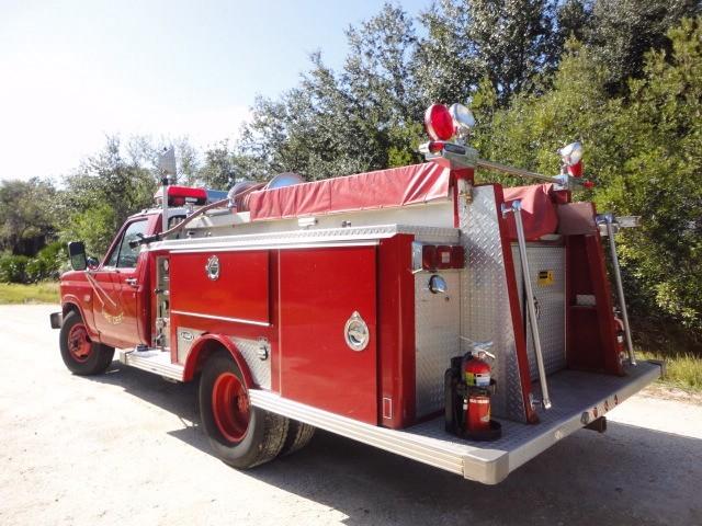 1986 Ford F Super Duty E One Mini Pumpe Fire Truck In