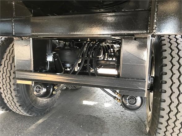 2020 Dragon 165 bbl steel water tanker, tri axle air ride w/re
