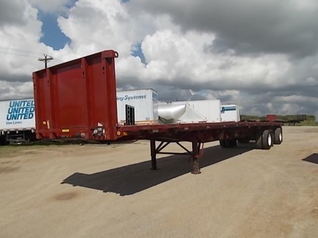 2000 Fontaine 48x102 air ride spread flatbed