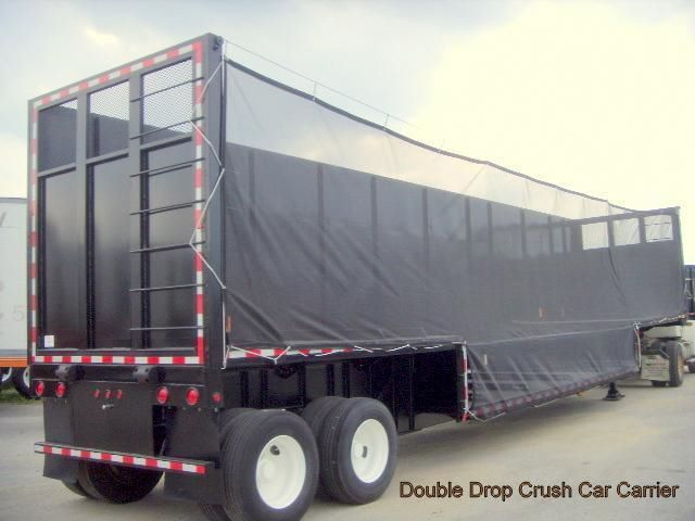 Custom Repurposed Converted Double Drop Crush Car Carrier