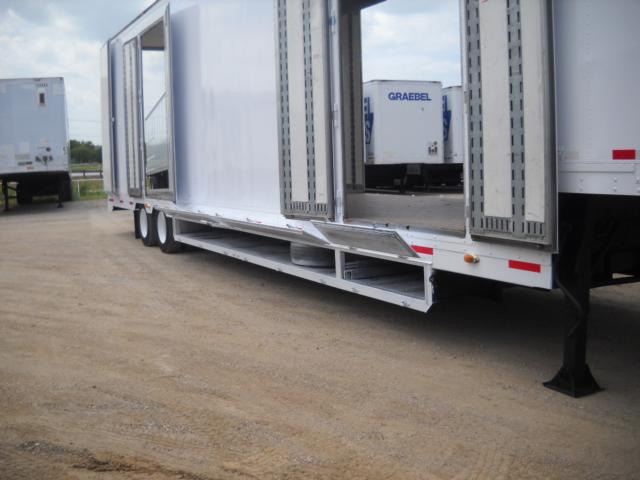2000 Kentucky Trailer 53x10 Air Ride Moving Van For Sale