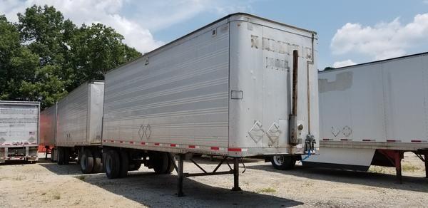 1993 Monon (15) 28x102 pup trailers | great jobsite ~ storage