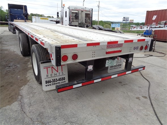 2015 Fontaine 53x102 combo flatbed w/ rear axle slide