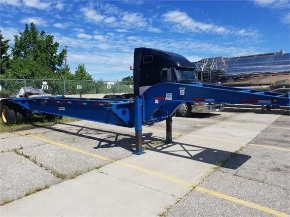 2013 Pratt 43' iso trailer/20' drop deck/9' spread axle