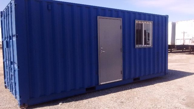 2016 Conex 20 Modified Container Office Office Trailer