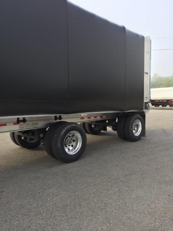 2020 Benson 524 aluminum flat 48x102 w/ conestoga