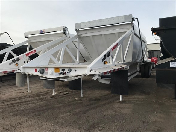 2020 Ranco 40' late model bottom dump, air ride, electric fli