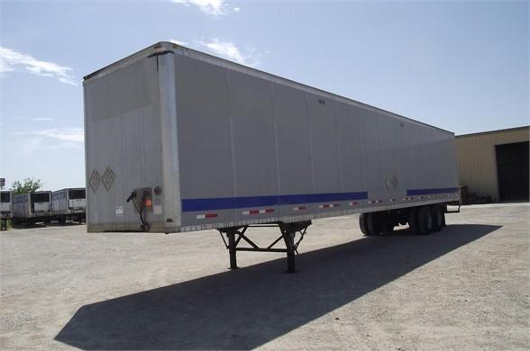 2005 Wabash 53x102 duraplate - air ride - alum roof