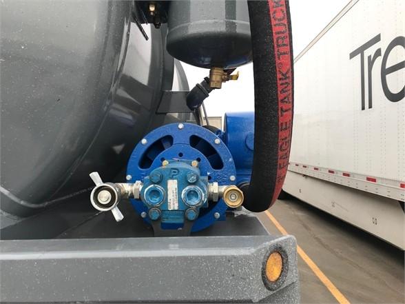 2020 Dragon 165 bbl water/vac tanker w fruitland 500 pump, tri
