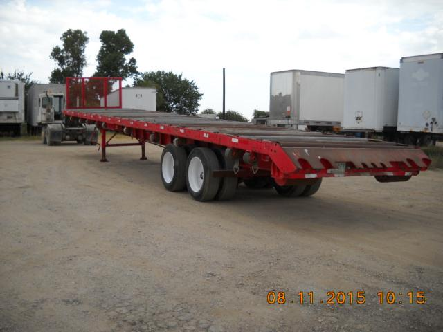 1999 Haulin 48x102 truss trailers
