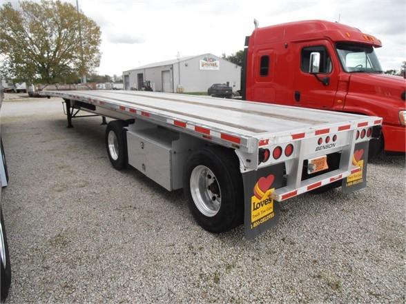 2012 Benson 524 aluminum 48 x 102