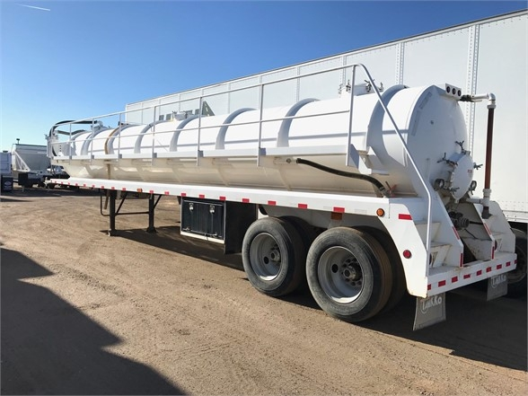 2014 Tankko 130 barrel, spring ride vacuum tanker, catwalk