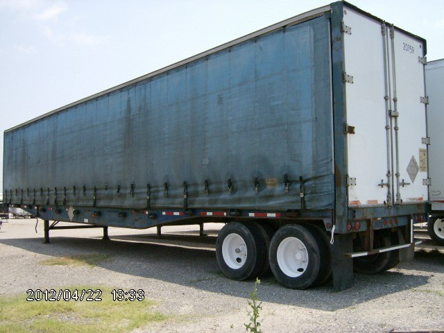 1993 Aztec Curtainside Trailer In Fort Worth Texas