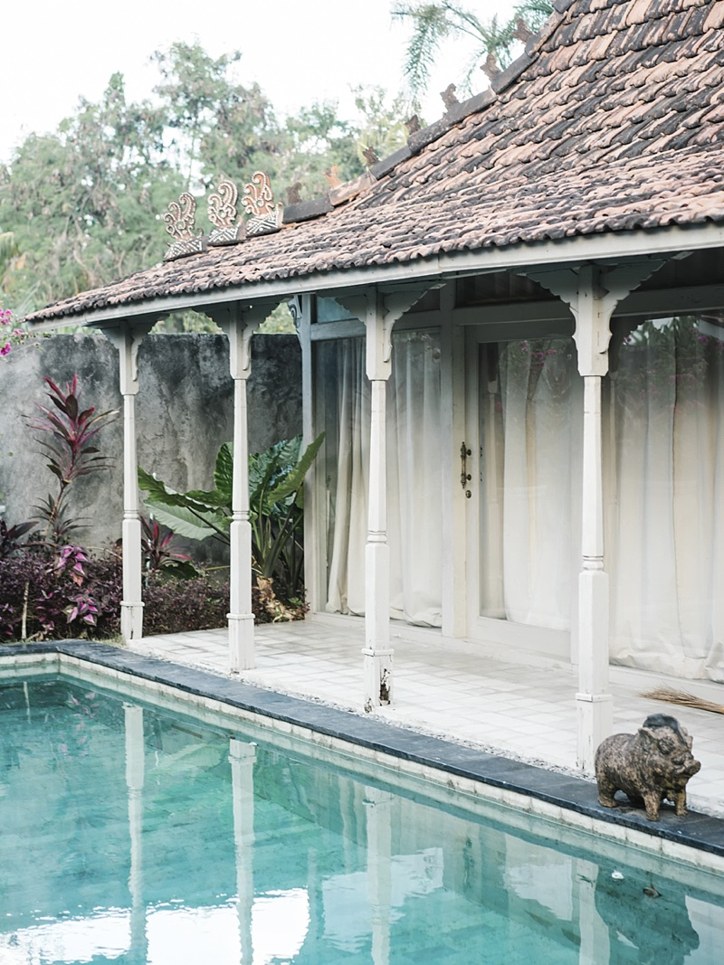 Romantic Balinese architecture for private villa