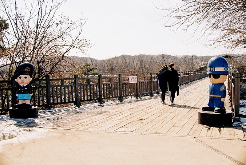 Freedom Bridge at DMZ in South Korea