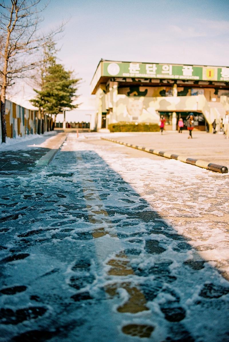 Winter tour at DMZ in South Korea