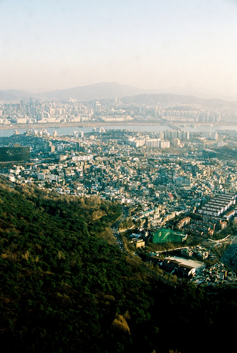 City of Seoul from Namsan Tower