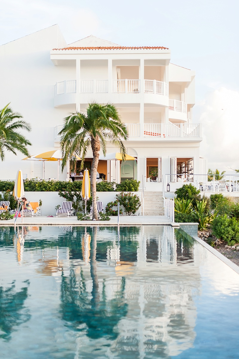 Malliouhana infinity pool in Anguilla