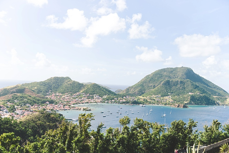 Les Saintes for a romantic honeymoon daycation